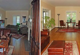 Cleveland Heights Home Staging Success Story